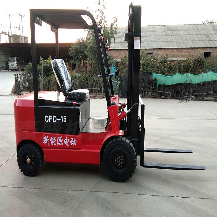 座駕式全電動叉車 四輪平衡重電動鏟車3噸