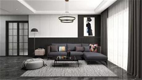 皇家壹品 现代简约风格房屋 开放式简约整体鞋柜装修