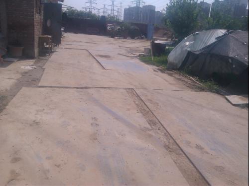 武汉钢板租赁 钢板出租和钢板租用