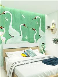 宜室感 客厅卧室壁纸画玄关床头背景墙布 无纺布墙纸北欧风格