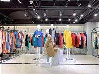 广州华景国际品牌折扣女装 韩版宽松外套过膝歌曼丽 库存工厂换季