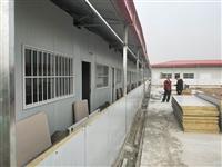 晋城岩棉彩钢房厂家直销 陵川冬季保温彩钢房供应
