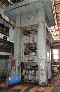 二手闭式单点压力机 俄罗斯大型冲床 1600吨