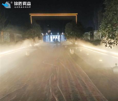 冷雾造景设备