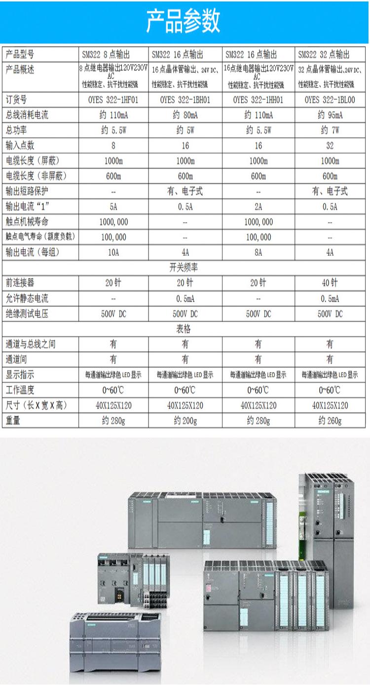 西门子PLC代理商<strong><strong><strong>6ES7322-1FL00-0AA0</strong></strong></strong>介绍 数字输出SM322