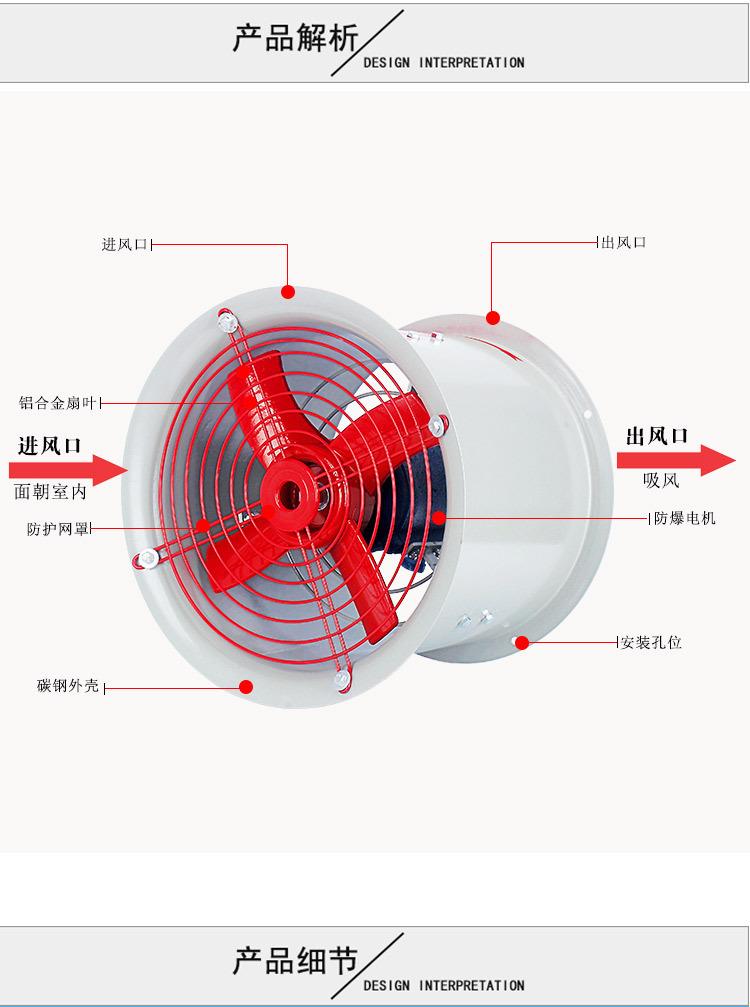 矿用防爆风机 井下用轴流通风机 煤矿用风机价格 山东