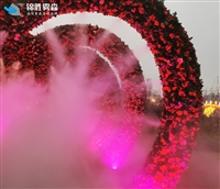 人工造雾景观高压微雾加湿机装备定制
