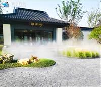 造景人造大雾高压微雾加湿机设施方案