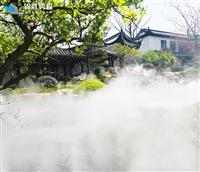 人造雾景观造雾高压微雾加湿机装置施工