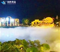 景区喷雾降温高压微雾加湿机设备安装