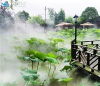 喷雾造景高压微雾加湿机设备方案
