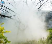 人工造雾气景观高压微雾加湿机系统供应