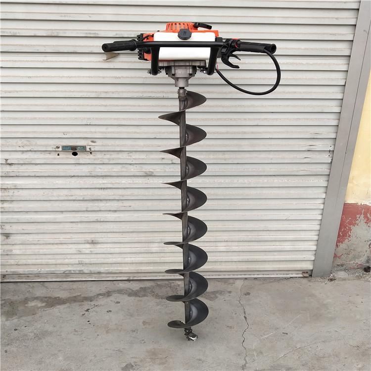 用植树钻坑机坑径光滑垂直
