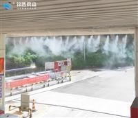 人工造雾降温设施