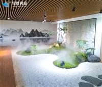 售楼部人工造大雾景观设施