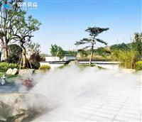 园林人工景观造雾气设施