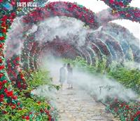 园林做雾景观喷雾