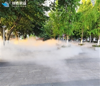 名胜古迹 水雾造景系统