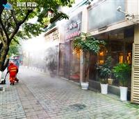 高效高压人造雾喷雾设施