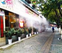 生态餐厅 喷雾水景厂家