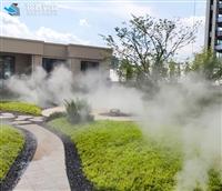 生态餐厅 景观造雾系统