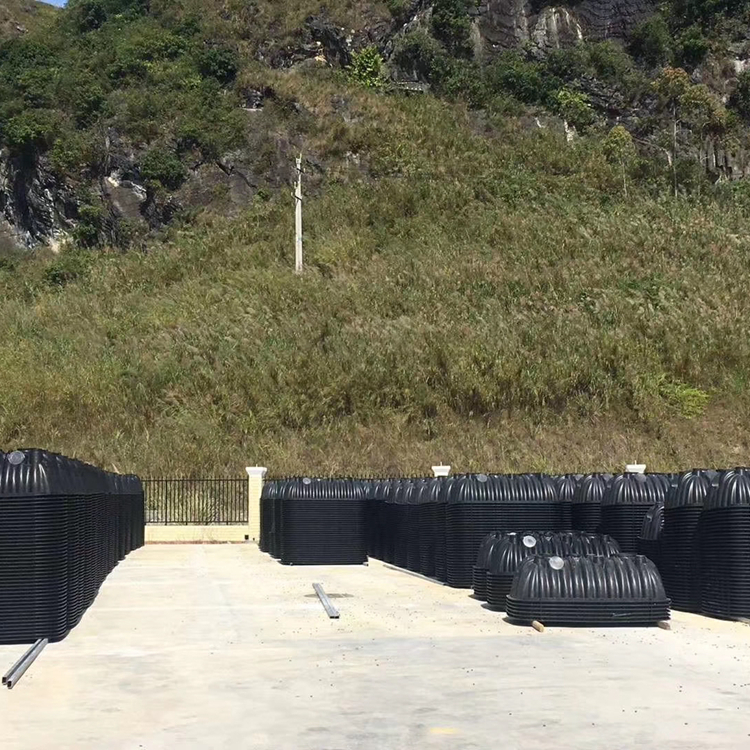 许昌化粪池厂家 农村塑胶化粪池安装 云梦三格化粪池厂家