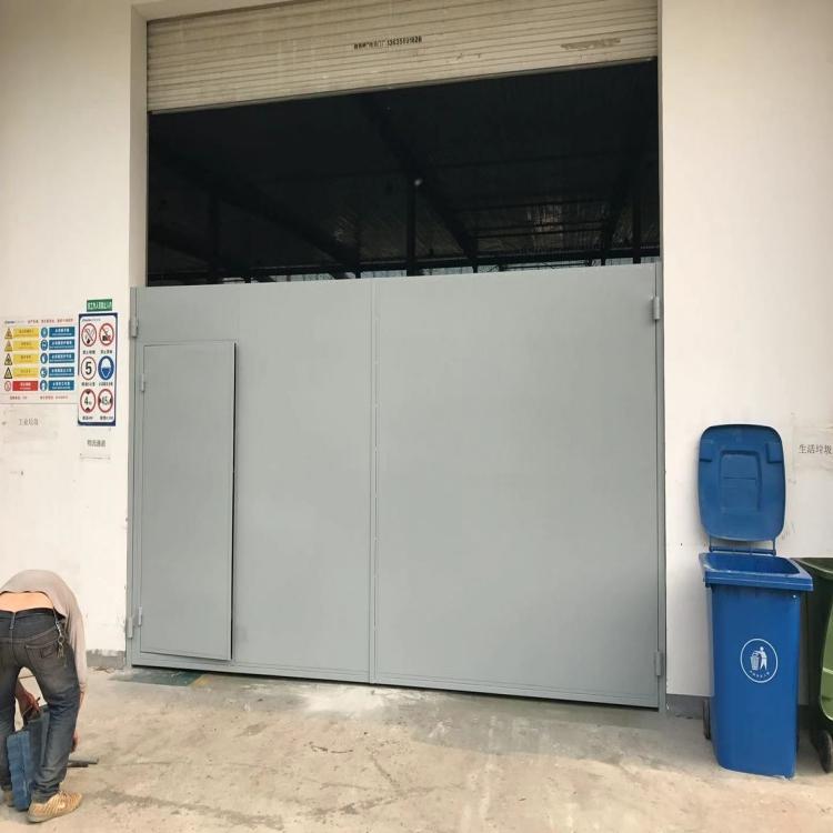 安徽厂房钢大门,平开钢大门定做,02J611-1图集钢大门