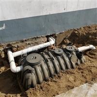 河南存储化粪池1.5立方 开封小区排污三格化粪池 交口塑料安装化粪池