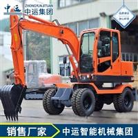 厂家轮式小型挖掘机不错 轮式小型挖掘机规格 轮胎式挖掘机品牌