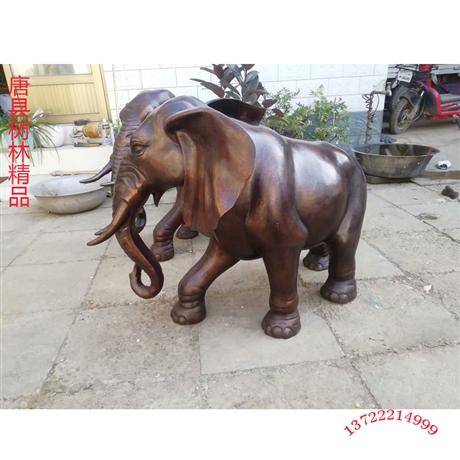 现货铜大象铸造厂 风水铜大象铸造厂
