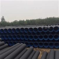 汉阴波纹管厂家 双壁打孔塑料波纹管 双壁波纹管规格型号符号