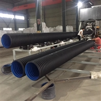 许昌县波纹管厂家 穿线塑料波纹管规格型号表 双壁波纹管闭水渗水