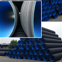 开封波纹管厂家 预应力塑料波纹管设备 聚乙烯双壁波纹管
