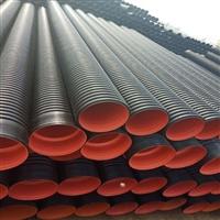 应县波纹管厂家 钢带pe螺旋塑料波纹管 pe双壁波纹管是材料