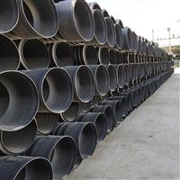灵丘波纹管厂家 钢带增强pe塑料波纹管 pe双壁波纹管的型号和规格