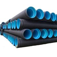 周至波纹管厂家 天然气塑料波纹管 电缆双壁波纹管规格型号表
