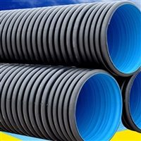 焦作波纹管厂家 塑料波纹管软管 hdpe双壁波纹管价格