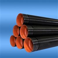 延安波纹管厂家 双壁塑料波纹管 双壁波纹管规格型号