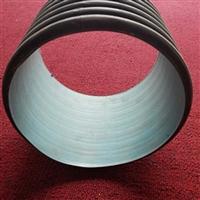 濮阳排污钢带波纹管 清丰400大口径 PE塑料排污双壁波纹管