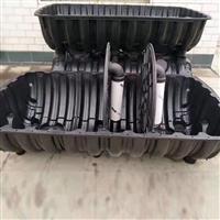 开封化粪池厂家 河南三格化粪池式厕所造价 1.5方塑料化粪池报价