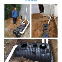 孟津化粪池厂家 三格化粪池设备 农村厕所改造塑料化粪池厂
