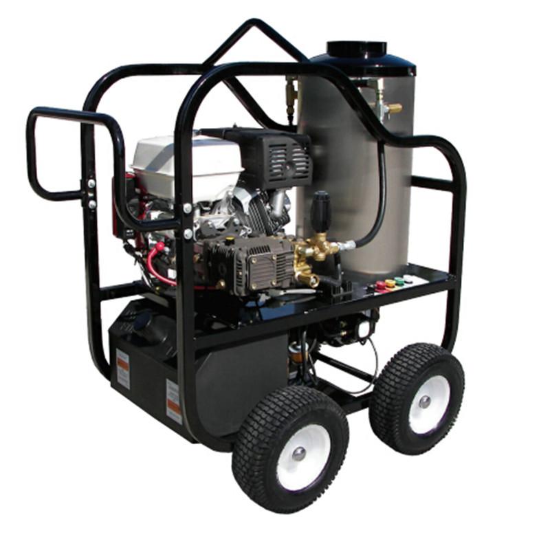 275bar汽油机驱动热水高压清洗机