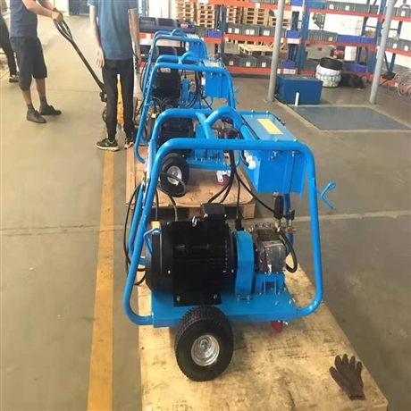 350bar高压清洗机 工业级移动式冷水 喷砂除漆除锈