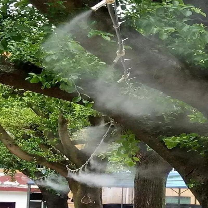 高压喷雾加湿降温降尘设备系统