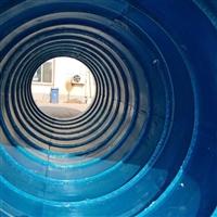 鹤壁玻璃钢化粪池厂家 PE三格式化粪池厕屋 中阳pe一体成型化粪池厂