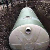 新蔡玻璃钢化粪池厂家 洛阳塑料三格式化粪池 粪便污水池 河南一体成型化粪池