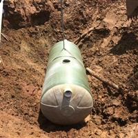 安阳玻璃钢化粪池厂家 三格式化粪池安装 汾阳PE一体成型化粪池厕屋