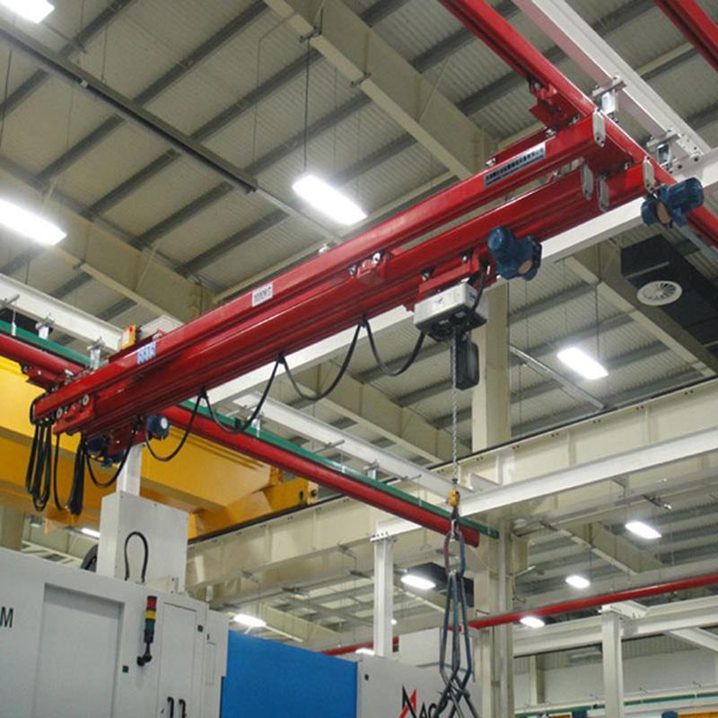 温州250kg500kg KPK滑轨 JKBK轨道起重机  悬挂式KBK起重机
