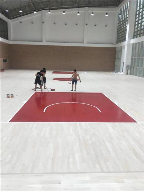 篮球场体育木地板