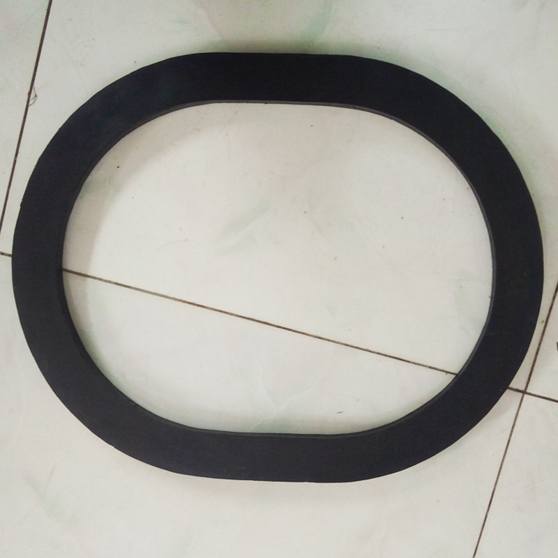 圆形橡胶平垫 阀门管道密封垫圈 圣彼德法兰橡胶垫片